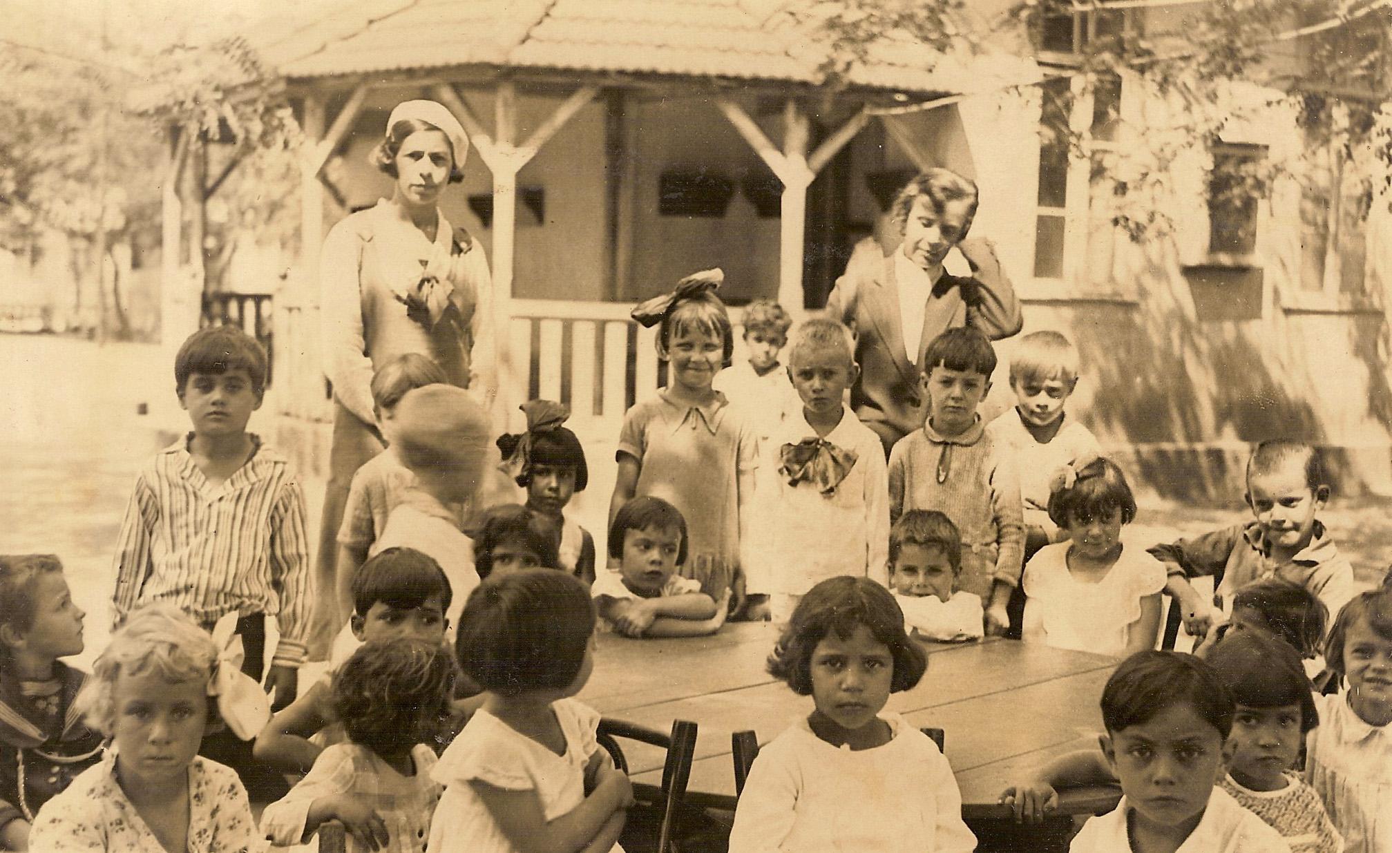 Atividades com crianças em escola (Rio Grande do Sul